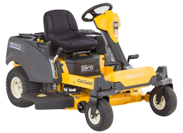 Cub Cadet Electric Lawn Mower : Cub cadet rzt s zero electric lawn mower tractor