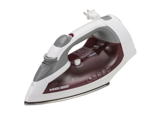 Consumer Reports Irons ~ Black decker xpress steam cord reel icr iron