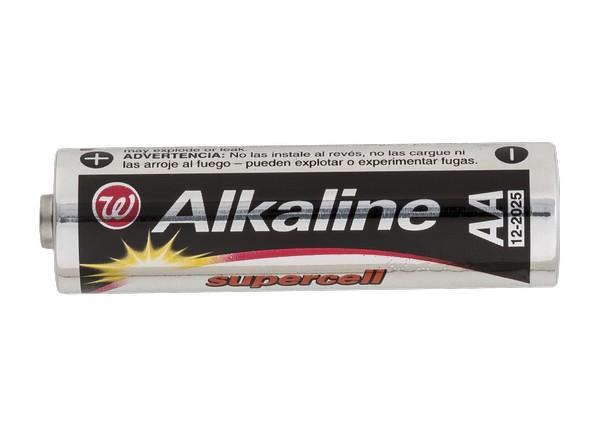 Walgreens W Alkaline Supercell AA Battery
