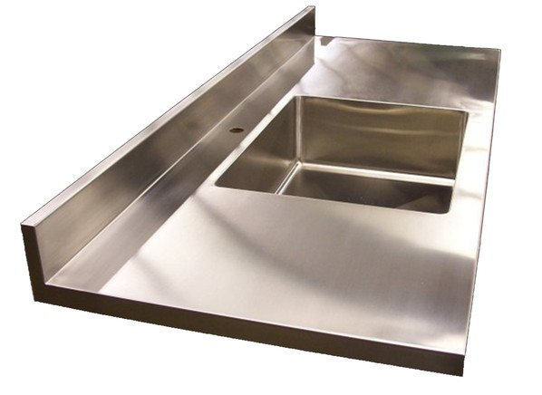 Stainless steel countertop prices consumer reports for Stainless steel countertops cost per sq ft