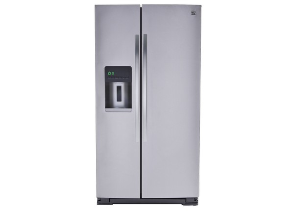 kenmore refrigerator white. side-by-side refrigerator kenmore white
