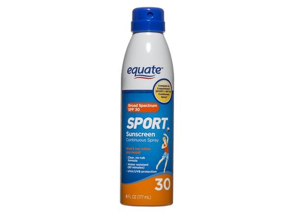 Equate Walmart Sport Continuous Spray Spf 30 Sunscreen