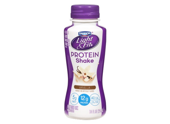 Dannon Light Amp Fit Protein Shake Vanilla Healthy Snack
