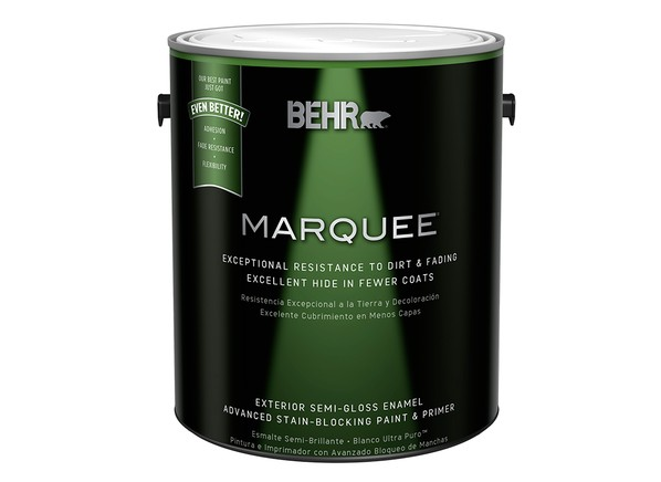 Behr Amazing Behr Premium Plus Ultra Gal Ul Heather Plume Satin Enamel Exterior Paint With Behr