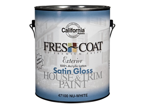 California Paints Fres Coat Exterior Paint