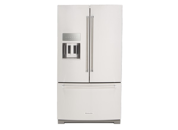 Kitchenaid Refrigerator White kitchenaid krff507ess refrigerator - consumer reports