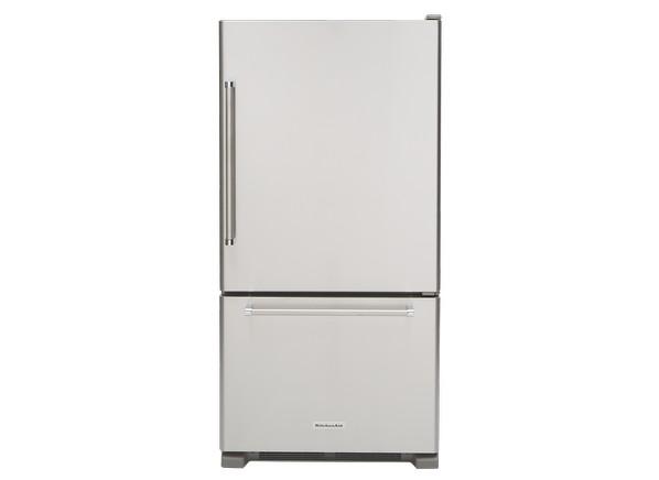 Kitchenaid Refrigerator kitchenaid krbr102ess refrigerator - consumer reports