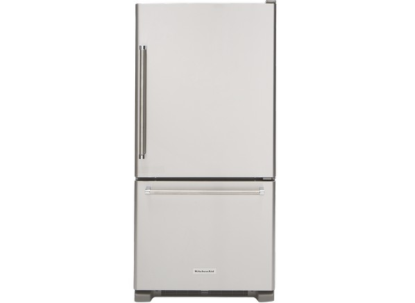 Kitchenaid Refrigerator White kitchenaid krbr109ess refrigerator - consumer reports