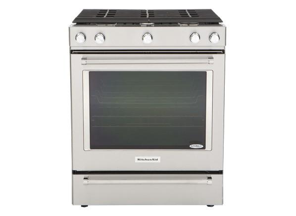 Kitchenaid Gas Stoves kitchenaid ksgg700ess range - consumer reports
