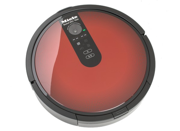 scout rx1 robotic vacuum cleaner red