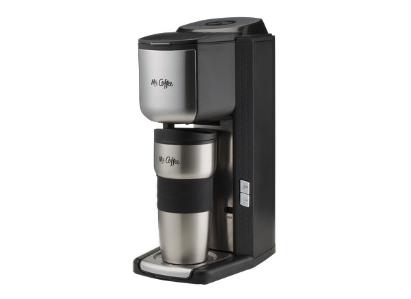 Coffee Maker Grinder Ratings : Consumer Reports - Mr. Coffee Single Cup with Built-in Grinder BVMC-SCGB200