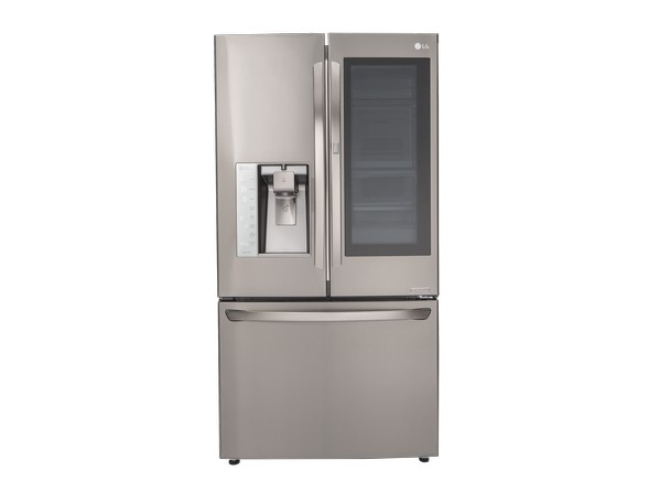 Amazing We Saw A Variety Of See Through Appliances This Year, Including  Dishwashers, Toasters, And Teakettles. Add This 36 Inch Wide French Door LG  To The List.