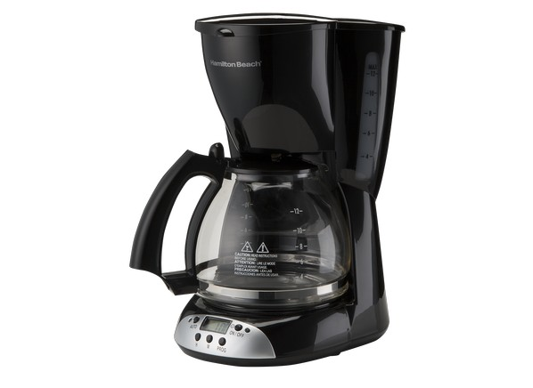 387326 coffeemakers hamiltonbeach 12cupprogrammable49465 Best Drip Coffee Maker Consumer Reports