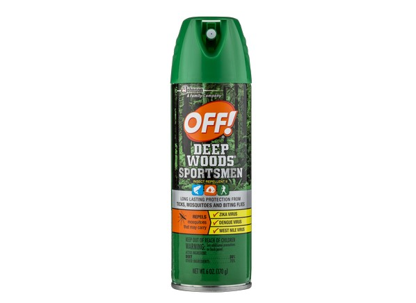 Off Deep Woods Sportsmen Insect Repellent Ii Insect