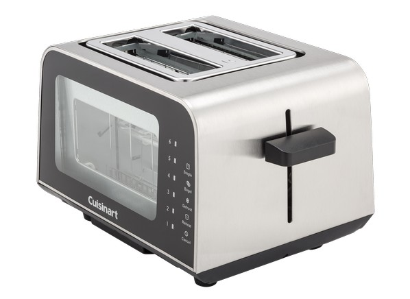 Cuisinart View Pro Glass 2 Slice CPT 3000 Toaster