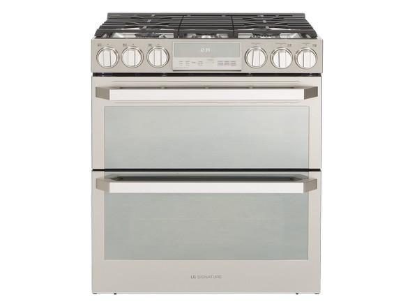 Consumer Gas Stove Electric Oven ~ Lg signature lutd sn range consumer reports