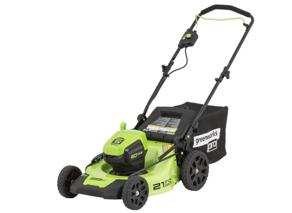 greenworks mo60l410 item 725987 lowe 39 s lawn mower tractor prices consumer reports. Black Bedroom Furniture Sets. Home Design Ideas
