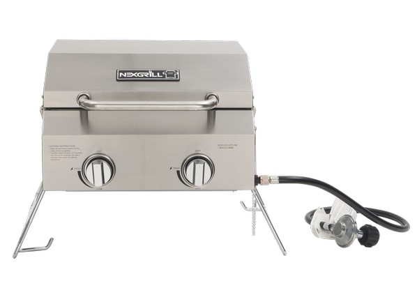 An overview of a gas grill from honda