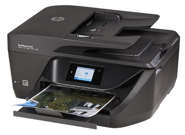 Hp officejet 6962 printer consumer reports for Hp all in one printer with document feeder