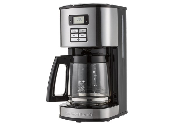 Coffee Maker Reviews Consumer Reports : Consumer Reports - Hamilton Beach 12-cup Programmable 49618 Shopping