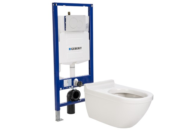 duravit starck 3 with geberit up3 20 tank toilet