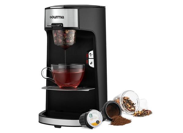 Gourmia Gcm3600 Coffee Tea Maker This Single Serve