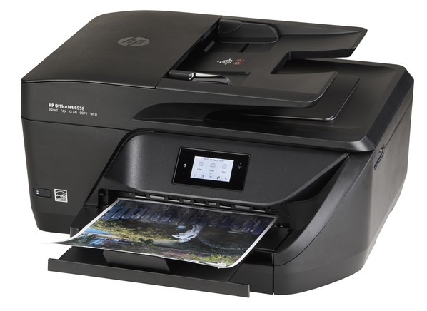 Hp officejet 6958 printer prices consumer reports for Hp all in one printer with document feeder