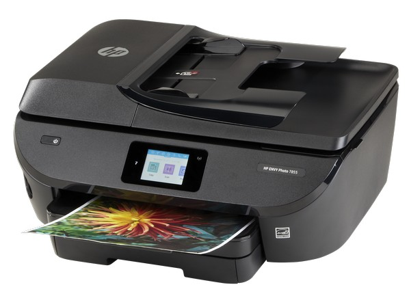 Hp envy photo 7855 aio printer consumer reports for Hp all in one printer with document feeder