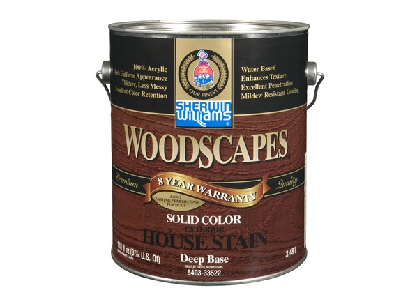 Sherwin williams woodscapes solid wood stain prices consumer reports for Sherwin williams exterior stain reviews