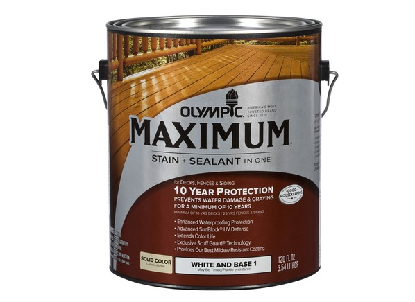 Olympic Maximum Solid (Loweu0027s) Wood Stain
