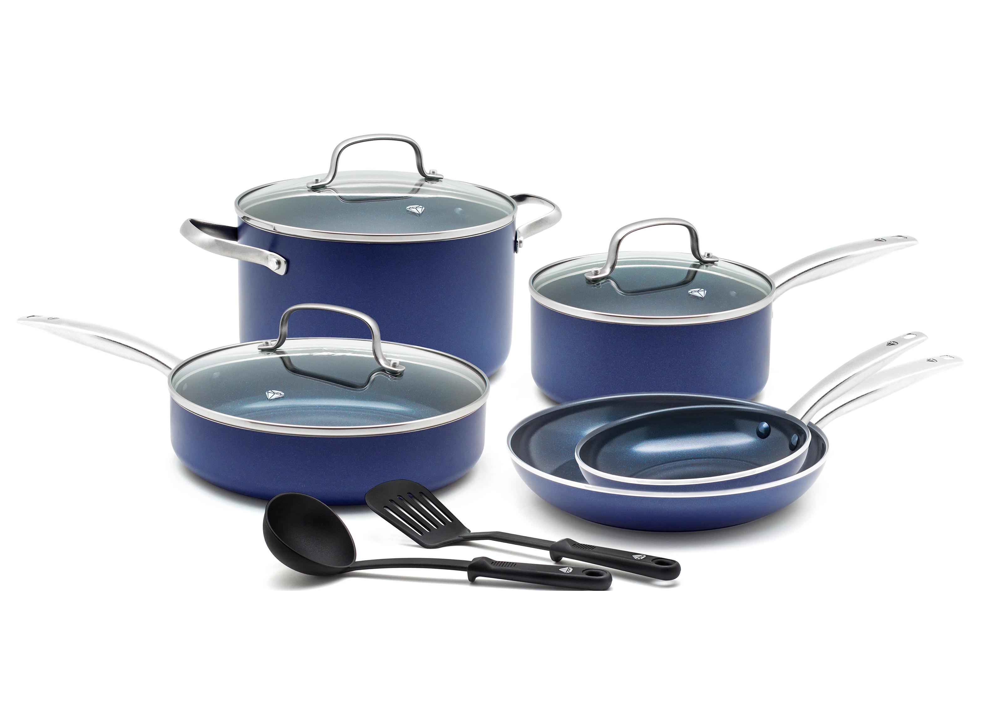 Blue Diamond Enhanced Ceramic Nonstick Cookware