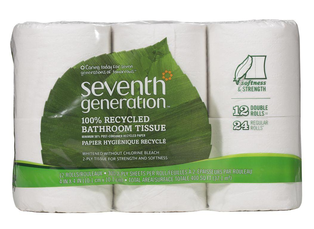 Seventh Generation bath tissue Toilet Paper - Consumer Reports