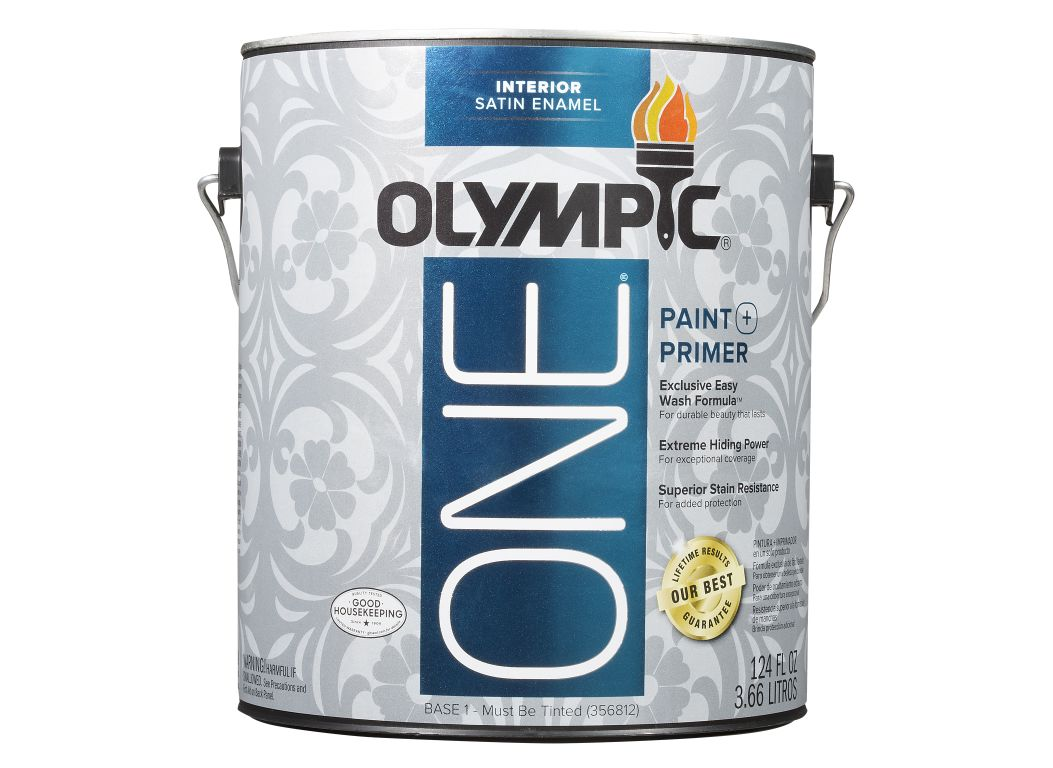 Olympic One Satin Enamel (Loweu0027s) Paint