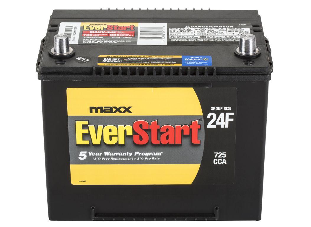 ac delco car battery walmart  EverStart MAXX-24FN (North) Car Battery - Consumer Reports