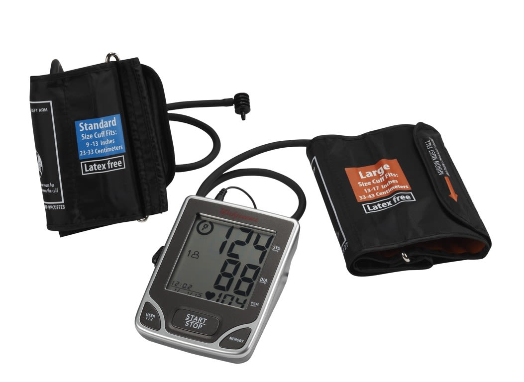 Well At Walgreens Deluxe Wgnbpa 740 Blood Pressure Monitor
