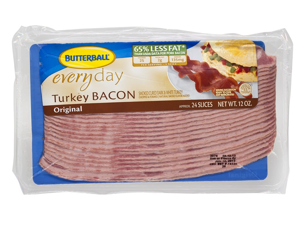 butterball turkey bacon original bacon consumer reports