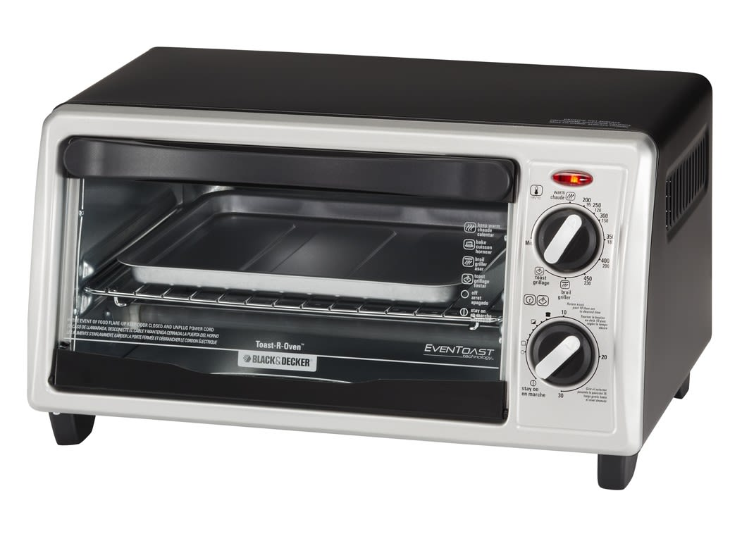 Black+Decker Eventoast TO1332SBD Oven Toaster & toaster oven