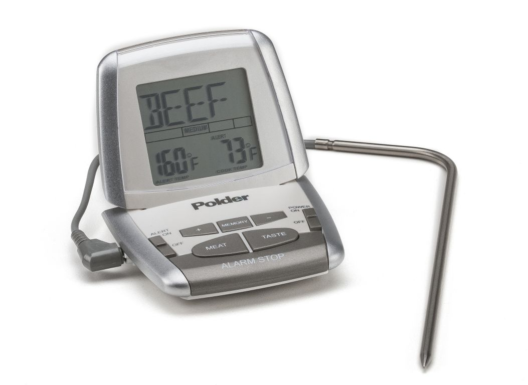 Polder Deluxe Preset Thm 307trm Meat Thermometer Consumer Reports