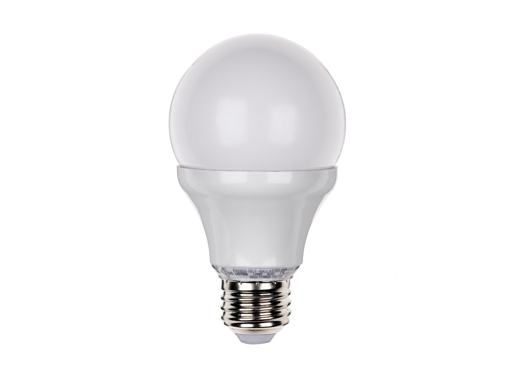 Great Value (Walmart) 60W Soft White A19 LED Dimmable Lightbulb