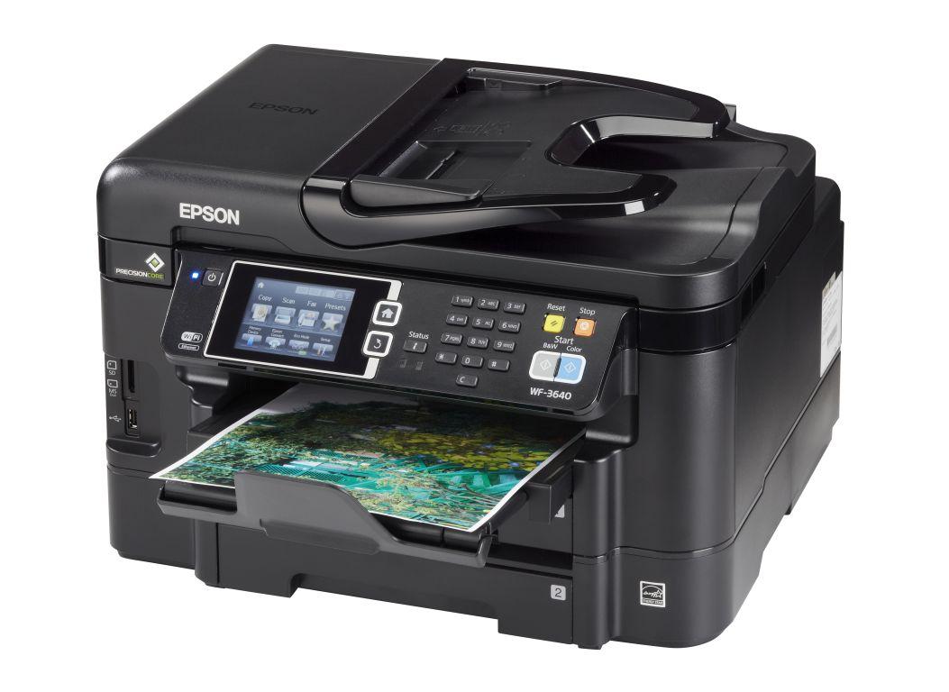Epson Workforce Wf 3640 Printer Consumer Reports