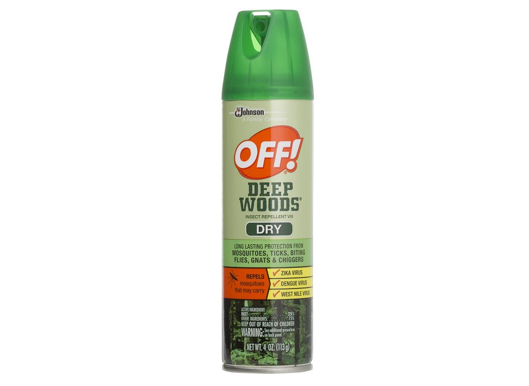Off Deep Woods Insect Repellent Vlll Dry Insect Repellent