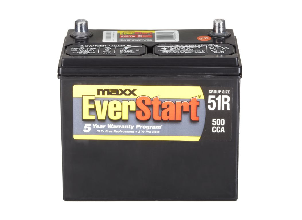 Everstart Battery Warranty >> EverStart MAXX-51R Car Battery - Consumer Reports