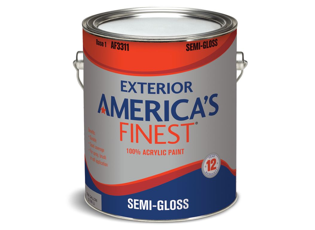 America's Finest Exterior (Home Depot) Paint