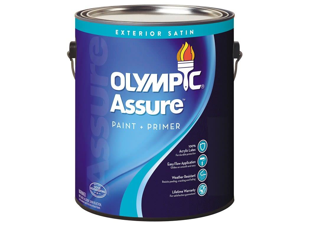 Delightful Olympic Exterior Paint Part - 14: Olympic Assure Exterior (Loweu0027s) Paint