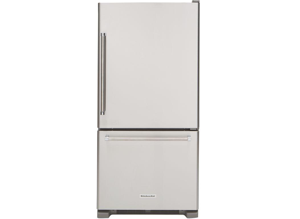 Genial KitchenAid KRBR109ESS Refrigerator