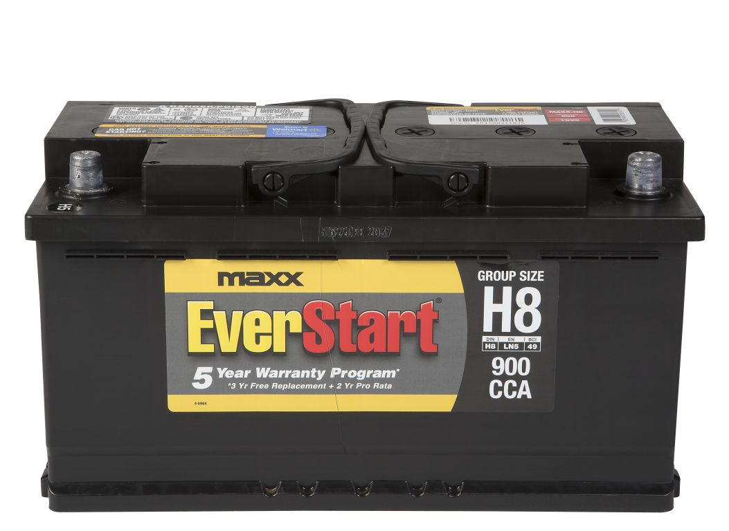 Everstart Battery Warranty >> EverStart MAXX-H8 Car Battery - Consumer Reports