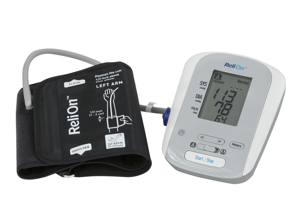 Relion Wal Mart Bp200 Hem741creln4 Blood Pressure Monitor
