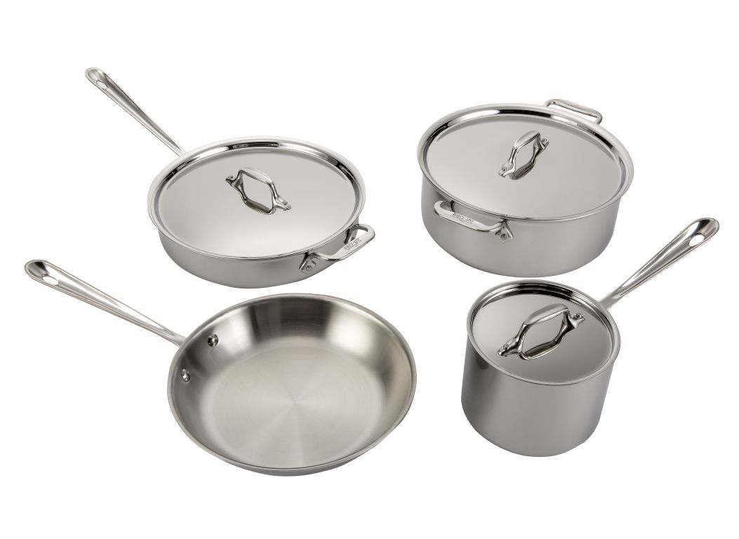 All Clad Stainless Steel Kitchen Cookware Consumer Reports