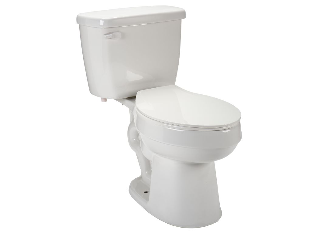 Aquasource Henshaw LO2EC08W (98923) (Lowe\'s) Toilet - Consumer Reports