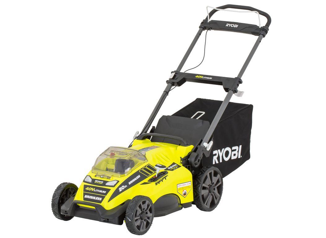 Ryobi Ry40180 Lawn Mower Amp Tractor Consumer Reports
